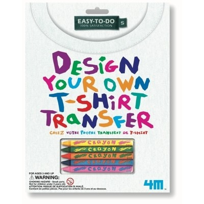 4M - Design Your own T-Shirt Transfer