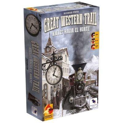 Eggert Spiele – Great Western Trail: Rieles hacia el norte