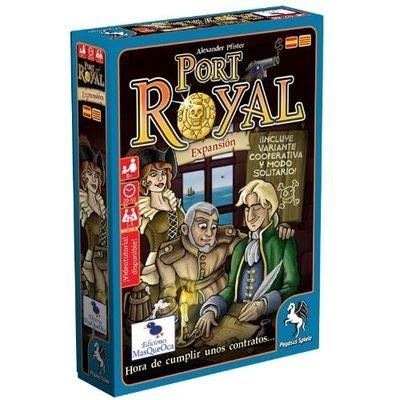 Pegasus Spiele - Port Royal: Hora de cumplir unos contratos