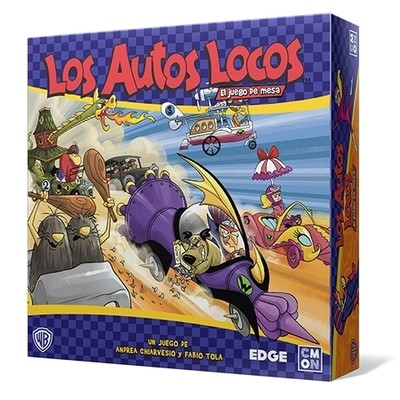 CMON - Los Autos Locos: El juego de tablero