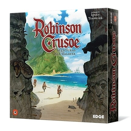 Portal Games - Robinson Crusoe: Aventuras en la isla maldita
