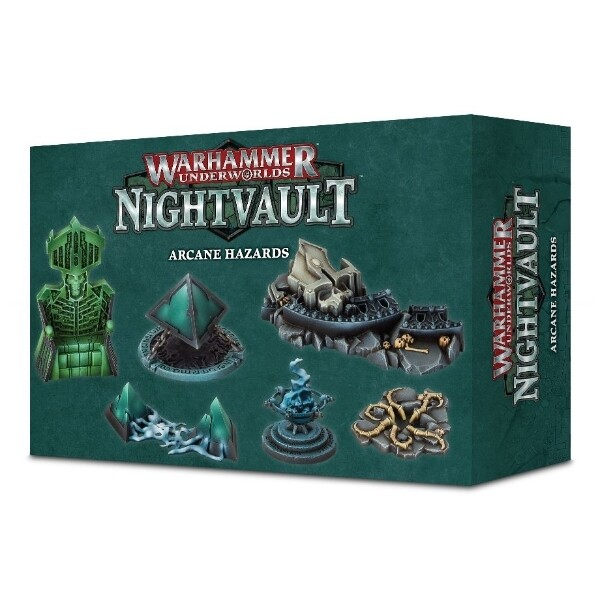 Games Workshop - Warhammer Underworlds: Nightvault Peligros arcanos