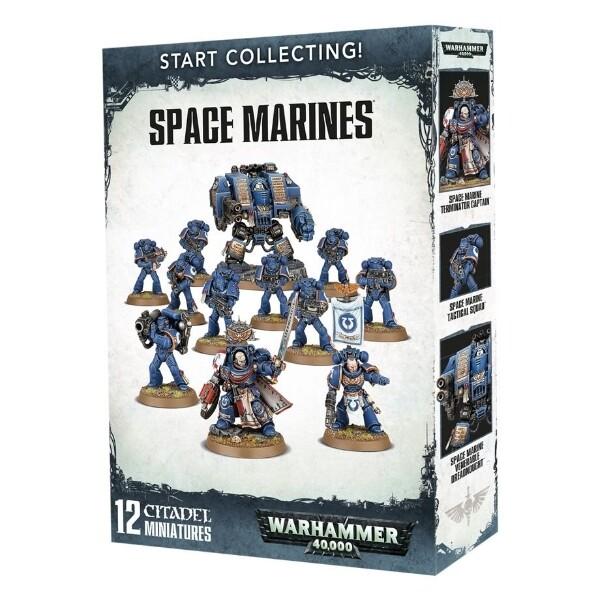 Games Workshop - Warhammer 40,000: Start Collecting! Space Marines