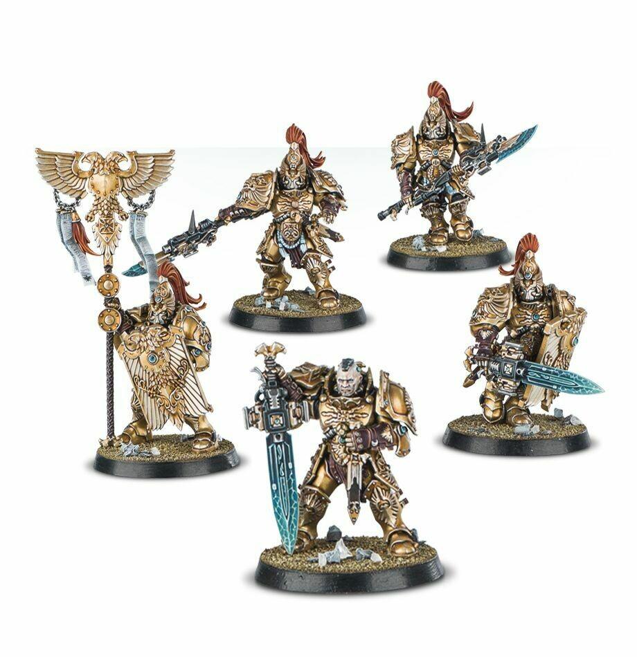 Games Workshop - Warhammer 40,000: Custodian Guard Squad