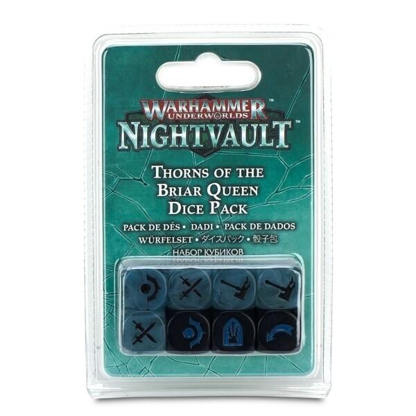 Games Workshop - Warhammer Underworlds: Nightvault - Pack de dados de Espinas de la Reina Zarza