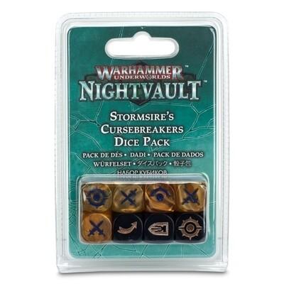 Games Workshop - Warhammer Underworlds: Nightvault - Pack de dados Rompemaldiciones de Stormsire