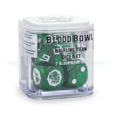 Games Workshop - Blood Bowl: Dados equipo Halfling