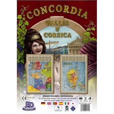 MasQueOca - Concordia: Gallia y Corsica