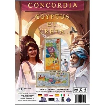 MasQueOca - Concordia: Aegyptus y Creta
