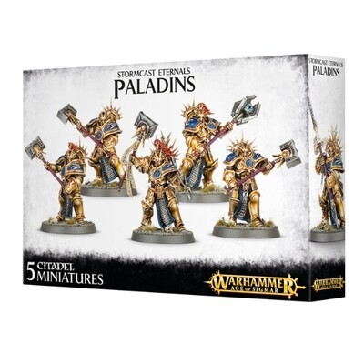 Games Workshop - Warhammer Age of Sigmar: Stormcast Eternals Paladins
