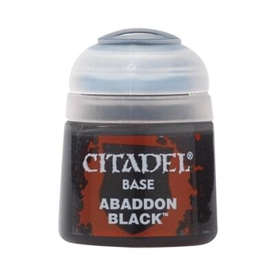 Citadel - Base: Abaddon Black - 12ml
