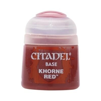 Citadel - Base: Khorne Red - 12ml