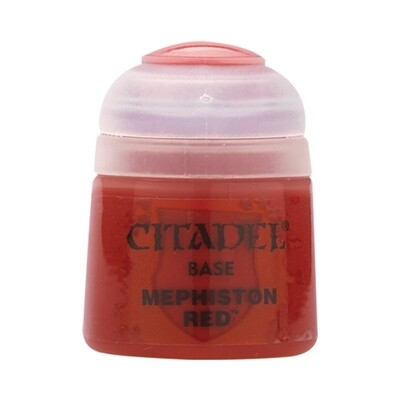 Citadel - Base: Mephiston Red - 12ml