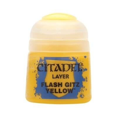 Citadel - Layer: Flash Gitz Yellow - 12ml