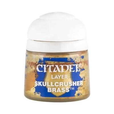 Citadel - Layer:  Skullcrusher Brass - 12ml