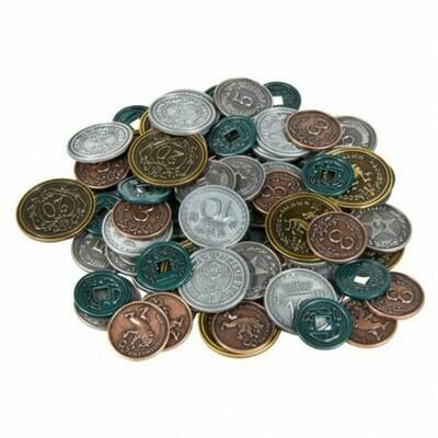 Maldito Games - Scythe: 80 Monedas Metálicas