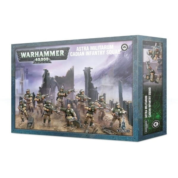 Games Workshop - Warhammer 40,000: Astra Militarum Cadian Infantry Squad