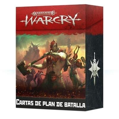 Games Workshop - Warcry: Cartas de plan de batalla
