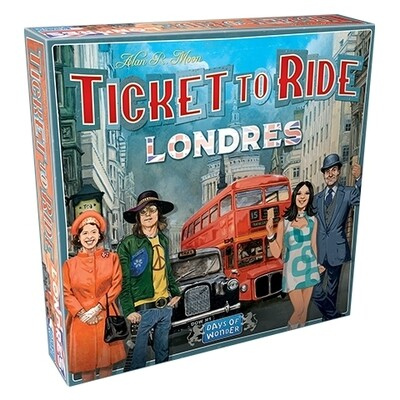 Days of Wonder - ¡Aventureros al Tren! Londres