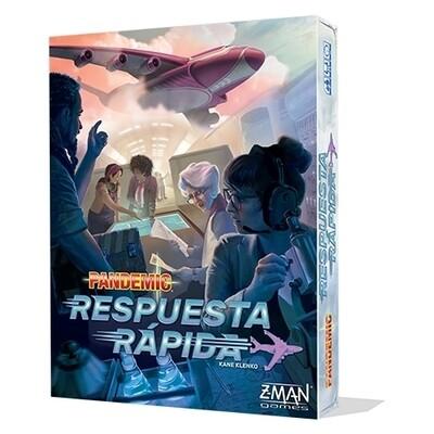 Z-Man Games - Pandemic Respuesta rápida