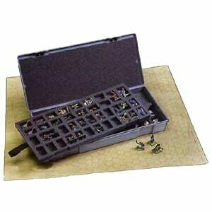 Chessex - Caja para miniaturas - 80 figuras de 25mm