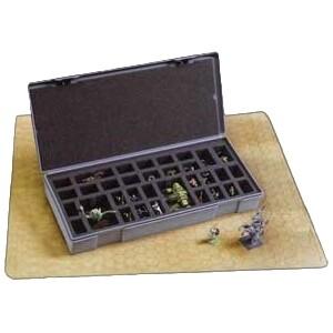 Chessex - Caja para miniaturas - 40 figuras grandes
