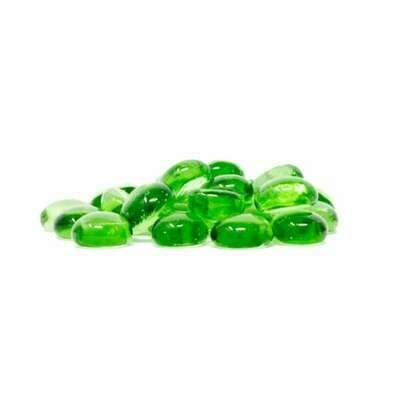 Chessex - Piedritas de cristal - Verde claro