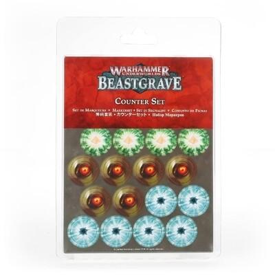 Games Workshop - Warhammer Underworlds: Set de contadores Beastgrave