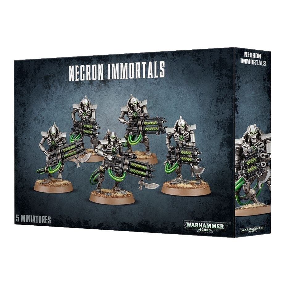 Games Workshop - Warhammer 40,000: Necron Immortals/Deathmarks