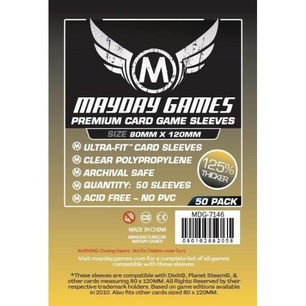 Mayday Games - Funda protectora Magnum Ultra-Fit Dixit  para cartas de 80mm x 120mm