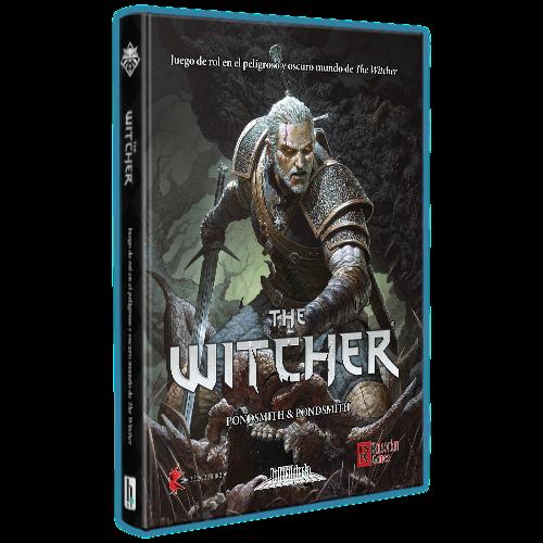 Holocubierta - The Witcher: Libro básico