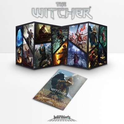 Holocubierta - The Witcher: Pantalla