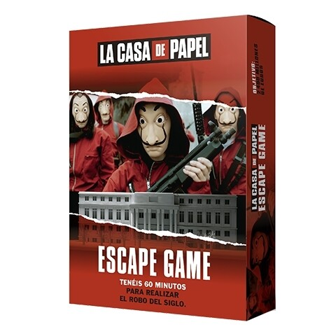 Zygomatic - La Casa de Papel Escape Game