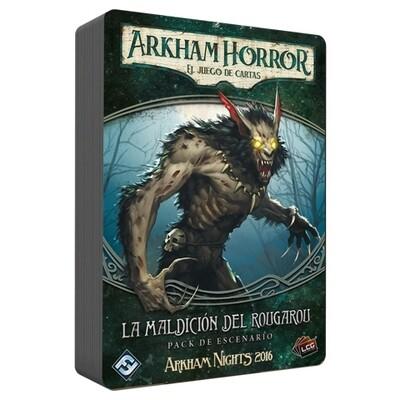 Fantasy Flight - Arkham Horror LCG: La maldición del rougarou