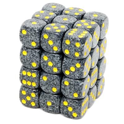 Chessex - Set de 36 dados D6 de 12mm moteados Urban Camo™