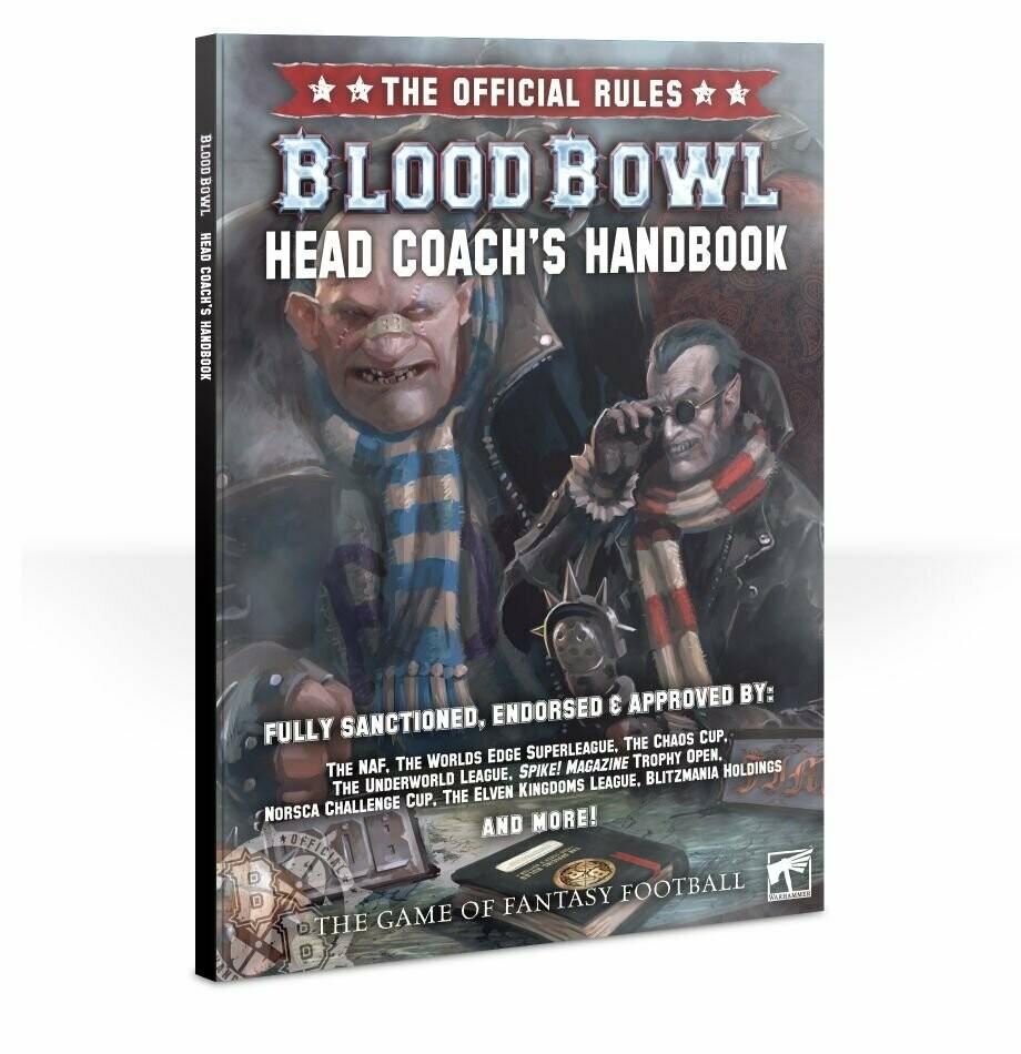 Games Workshop - Blood Bowl: Head Coach pack de Reglas y Accesorios