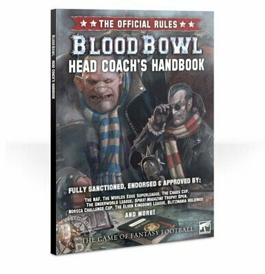 Games Workshop - Blood Bowl: Head Coach pack de Reglas y Accesorios