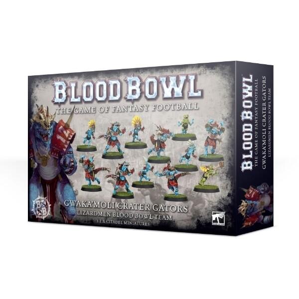 Games Workshop - Blood Bowl: Los Gwaka'moli Crater Gators