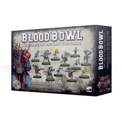 Games Workshop - Blood Bowl: Los Gwaka'moli Crater Gators
