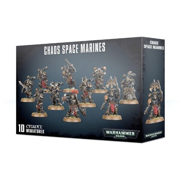 Games Workshop - Warhammer 40,000: Chaos Space Marines