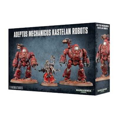 Games Workshop - Warhammer 40,000: Adeptus Mechanicus Kastelan Robots