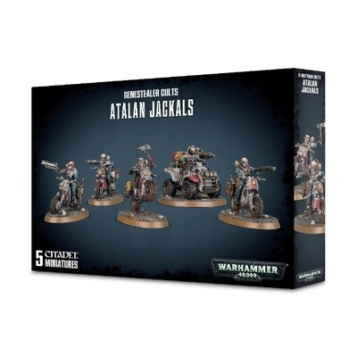 Games Workshop - Warhammer 40,000: Genestealer Cults Atalan Jackals