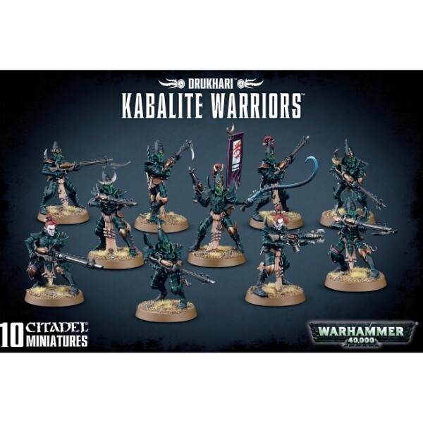 Games Workshop - Warhammer 40,000: Drukhari Kabalite Warriors