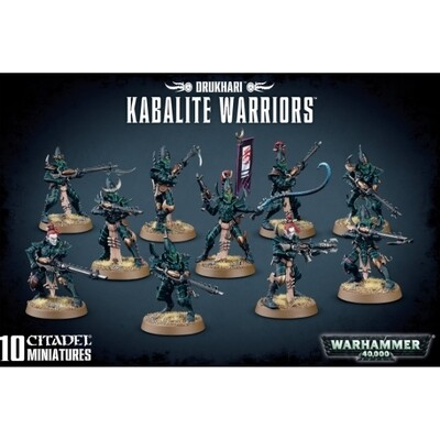 Games Workshop - Warhammer 40,000: Drukhari Kabalite Warriors