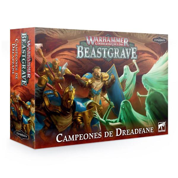 Games Workshop - Warhammer Underworlds: Beastgrave Campeones de Dreadfane