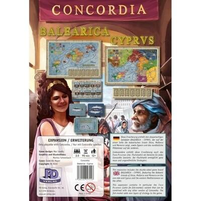 MasQueOca - Concordia: Balearica y Cyprus