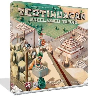 Maldito Games - Teotihuacán: Preclásico tardío
