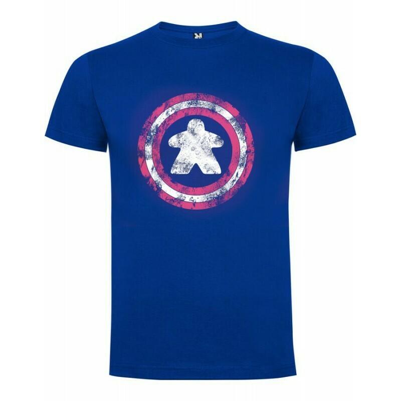 Maldito Games - Camiseta hombre Capitán Meeple