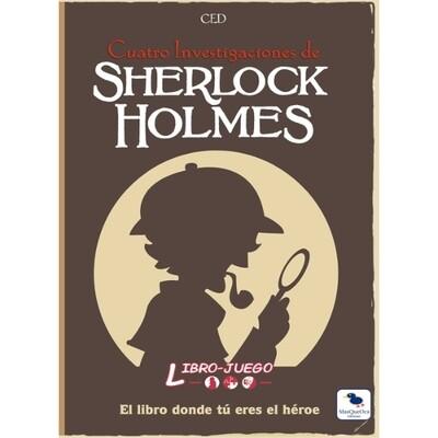 MasQueOca - Libro Juego 04: Cuatro Investigaciones de Sherlock Holmes