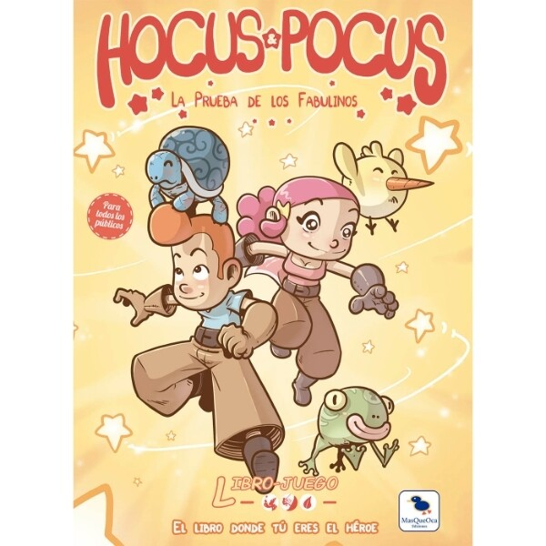 MasQueOca - Libro Juego 05: Hocus & Pocus - La prueba de los Fabulinos